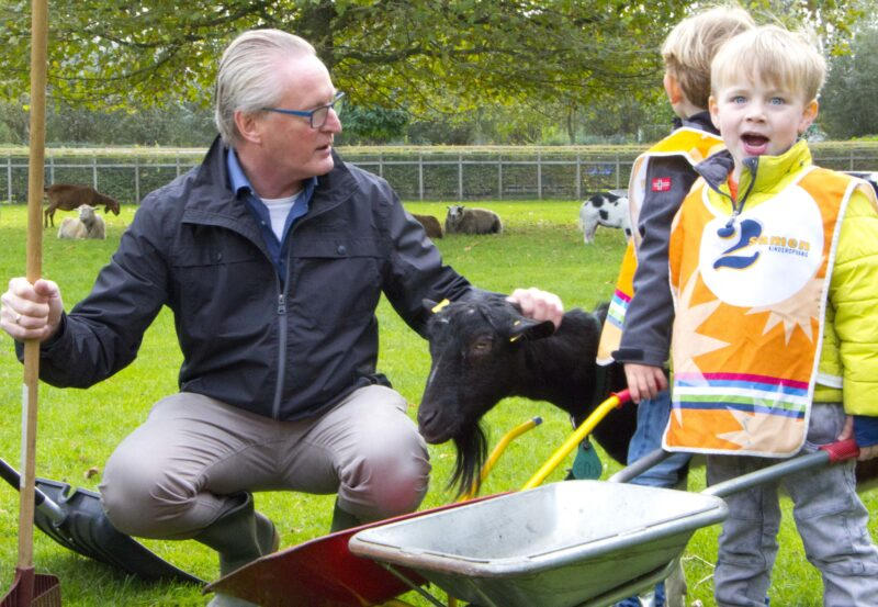 Directeur kinderopvang bij Buurtboerderij.