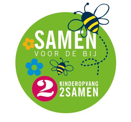 Logo 2Samen in actie voor de bij